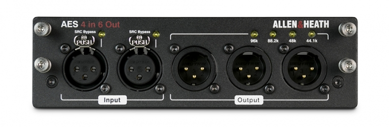 A&H dLive Audio interface modul  4 in / 6 out