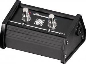 Ampeg AFP2 fodkontakt med 2 switch