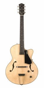Godin 5th Avenue Jazz Natural Flame AAA HG m/Tric Case