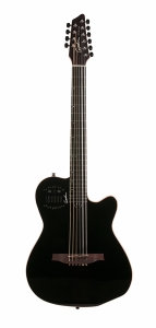 Godin A10 Black Steel HG m/Bag