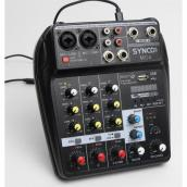 Synco mixer 2 mic og stereo line input, USB Audio interface